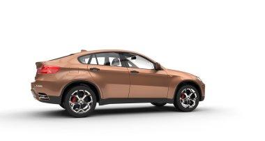 Orange Metallic SUV