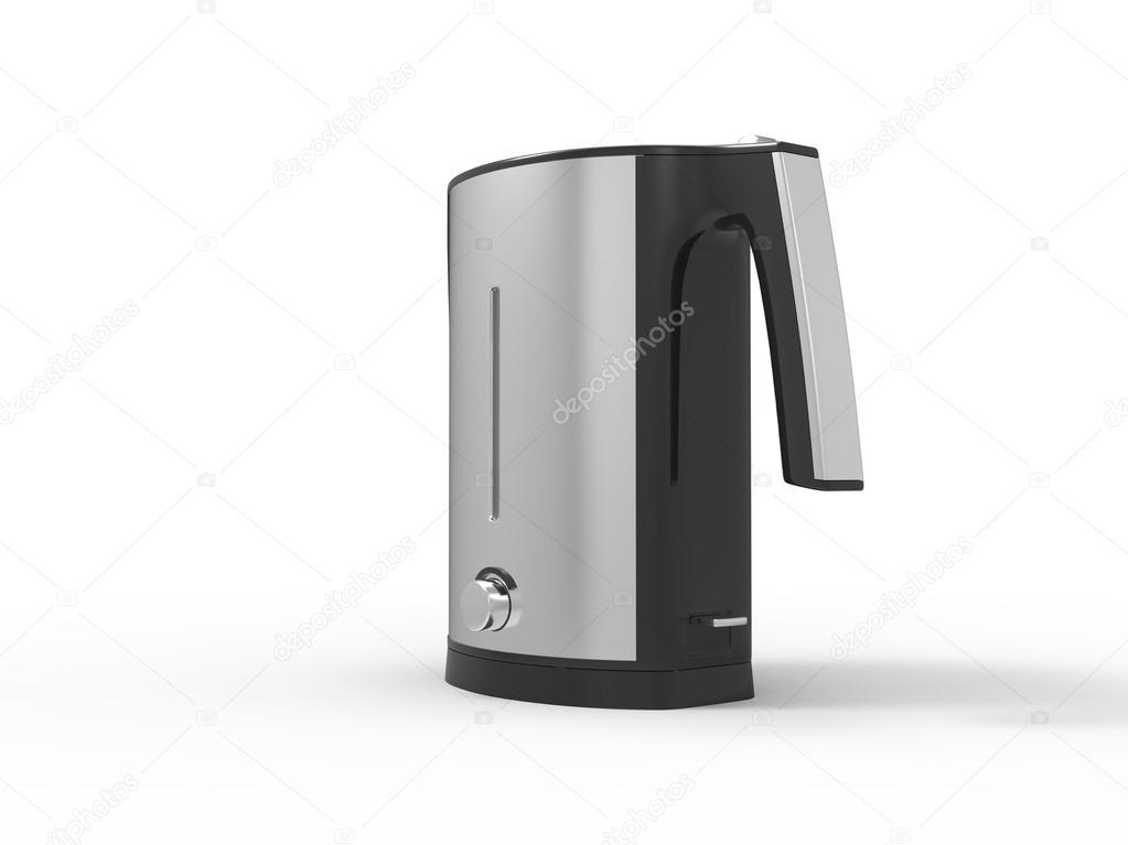 Wasserkocher Modern moderne chrom wasserkocher rücken ansicht stockfoto trimitrius