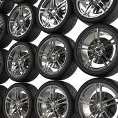 Wand des Reifen - Hintergrund