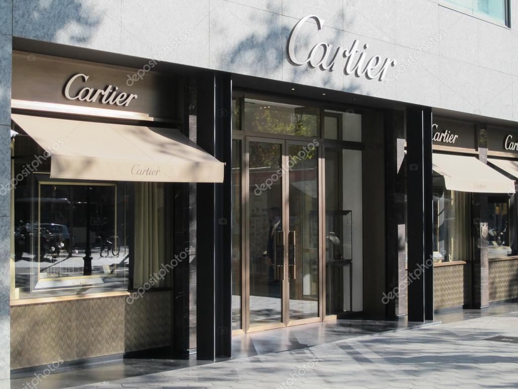 Cartier store in Barcelona Stock Editorial Photo edu1971 90671018