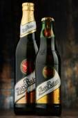 Lahví piva Zlaty Bazant