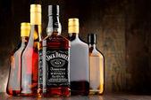 Láhev bourbonu Jack Daniel