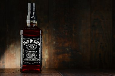 Bottle of Jack Daniel's bourbon