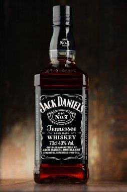 Bottle of Jack Daniel's bourbon