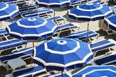 Fotografie středomořská pláž během horkého letního dne