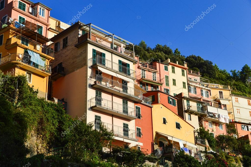 Mediterrane Architektur traditionelle mediterrane architektur manarola italien