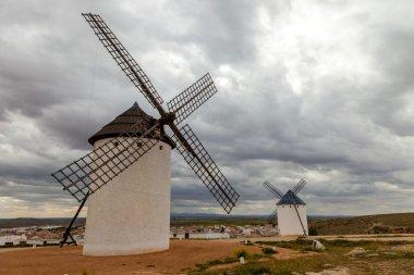 Typical Spanish Windmills