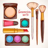 Fotografie set with decorative cosmetics - 2