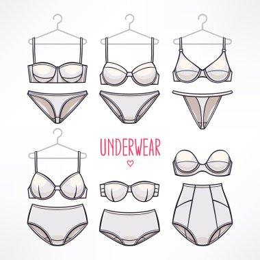 panties and bras