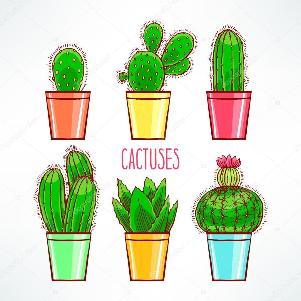 Картинки кактусики