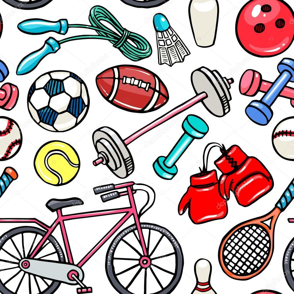 люблю свою спортивные предметы картинки мультяшные что маргарита