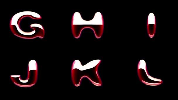 Loop alfa hmota barevná abeceda