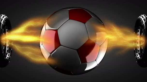 a hologram a futball-labda