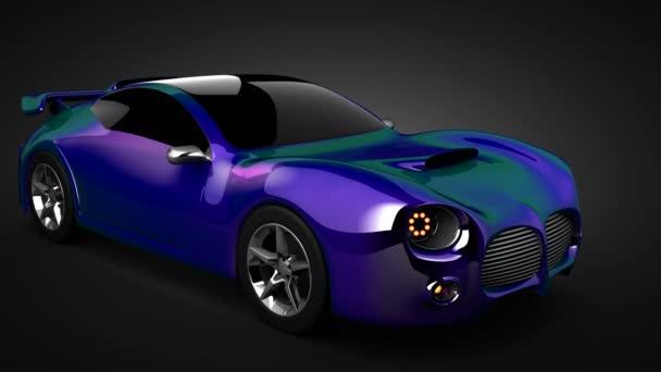 hurok forgatás luxus brandless sport autó