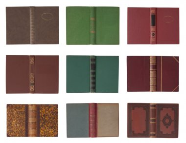 Collection of book covers