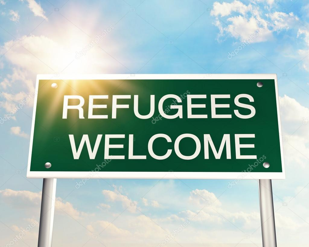 Refugees welcome symbol stock photo egal 87372262 refugees welcome symbol stock photo buycottarizona Gallery