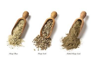 Hemp seeds and flour