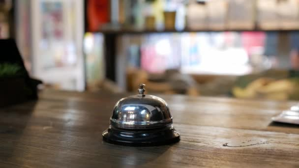 service bell in a coffee house