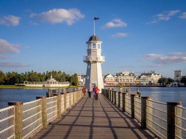 Lighthouse at the Disney Yacht Club