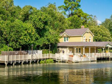 Tom Sawyer Island, Disney World