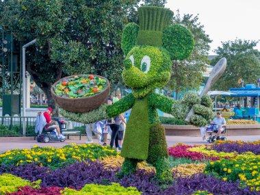 Mickey Mouse garden statue