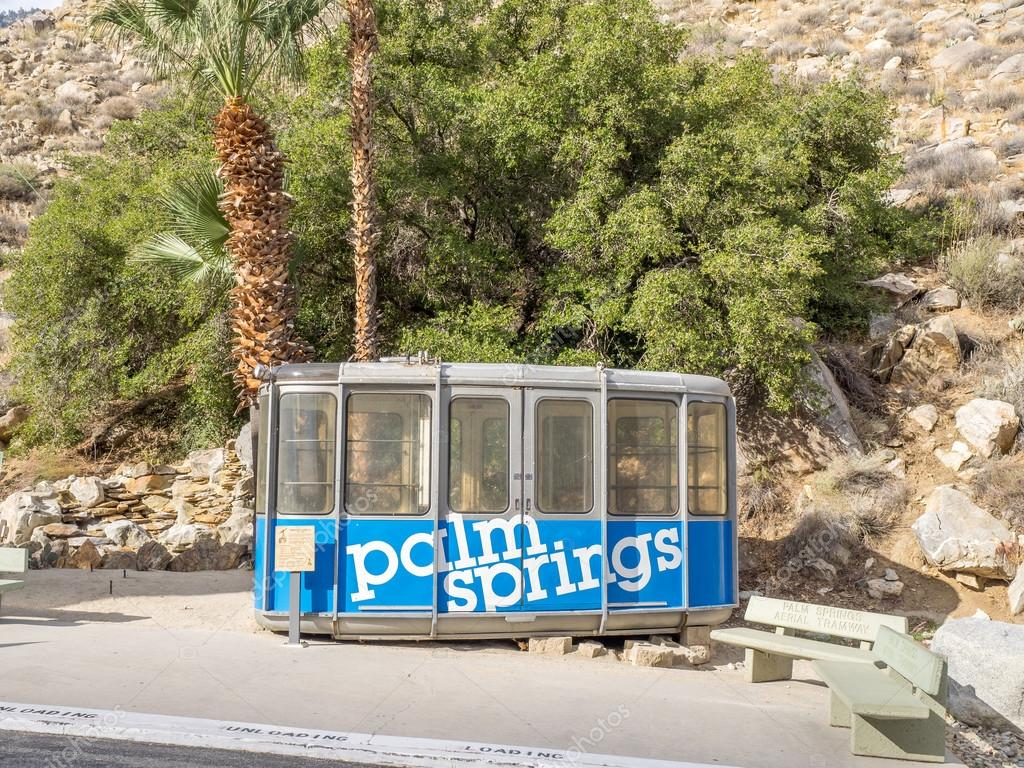 Palm Springs Aerial Tramway Cabin U2014 Stock Photo