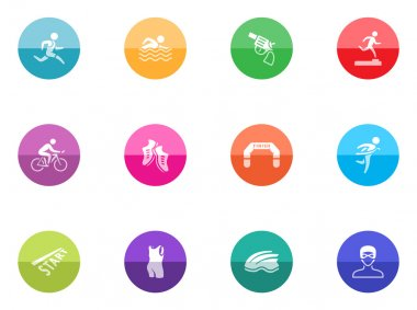 icons set in colorful circles