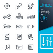Photo Lineo - Media and Technology outline icons