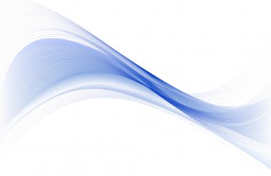 Abstract  blue design.