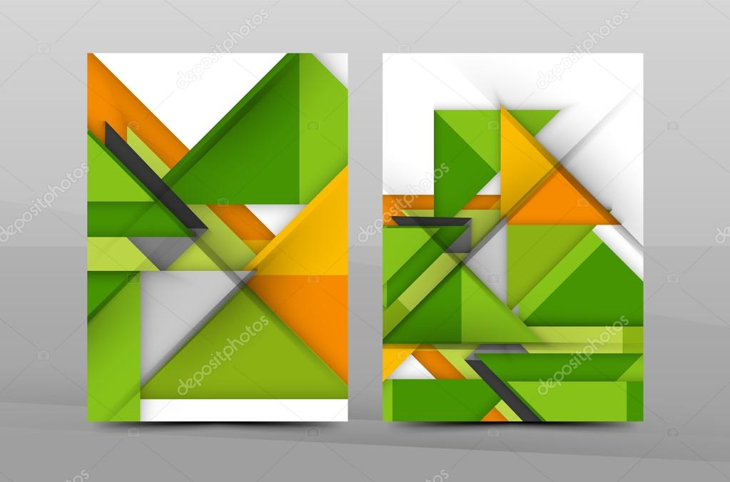 Geometric Abstract Background Stock Vector Akomov 116757692