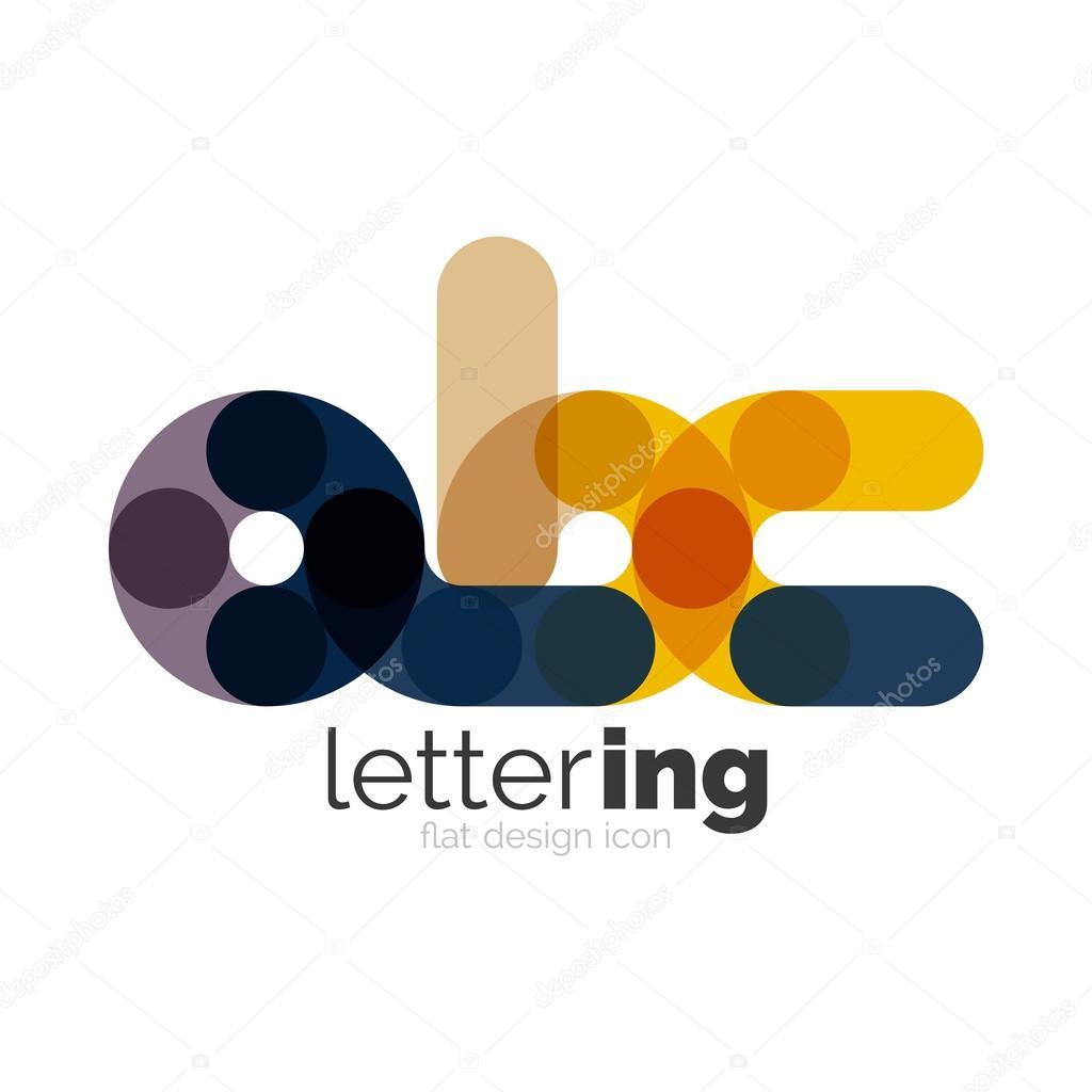 Brief-Logo-Geschäft-Symbol — Stockvektor © akomov #117053314