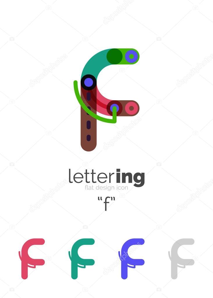 Buchstaben-Logo-Symbol — Stockvektor © akomov #117053484