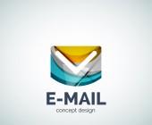 E-mailové logo obchodní značky ikona