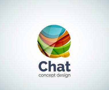 Bubble logo template