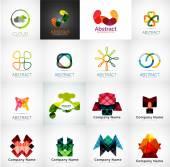 Fotografie Abstraktní společnost logo kolekce