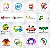 Fotografie abstraktní společnost logo vektorové kolekce