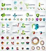 Abstrakte Unternehmen Logo-Sammlung