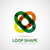 abstraktní symetrický podnikání ikona