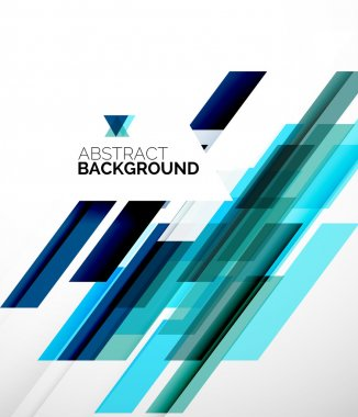 Abstract flyer template design background