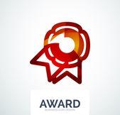 Logo společnosti barevné ocenění
