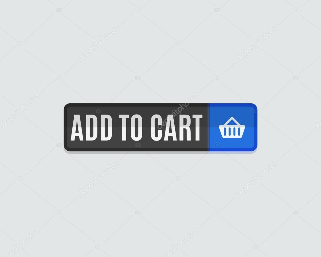 Aggiungi al carrello web pulsante — Vettoriali Stock © akomov  79239268 8dbe71f59bc