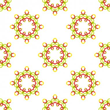 Seamless vector geometric abstract pattern.