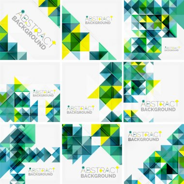 Abstract geometric background.
