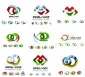 Souprava značky návrhy logotyp společnosti
