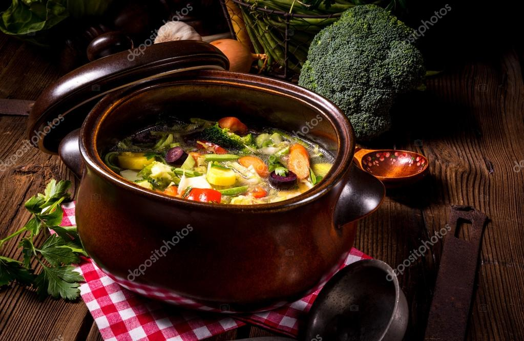 how to make light vegetable soup