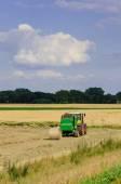 traktory sklizeň