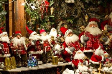 Shops at Christmas at the Tivoli in Copenhagen