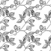 Fotografie Floral seamless background