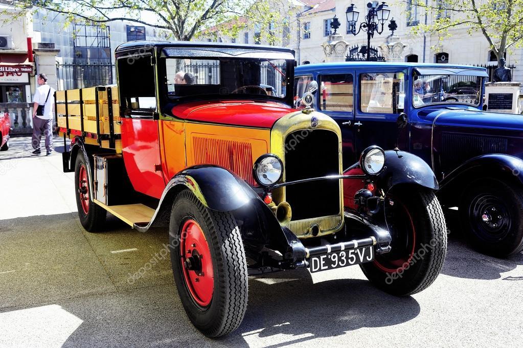 oude citroen auto uit de jaren 1920 redactionele. Black Bedroom Furniture Sets. Home Design Ideas