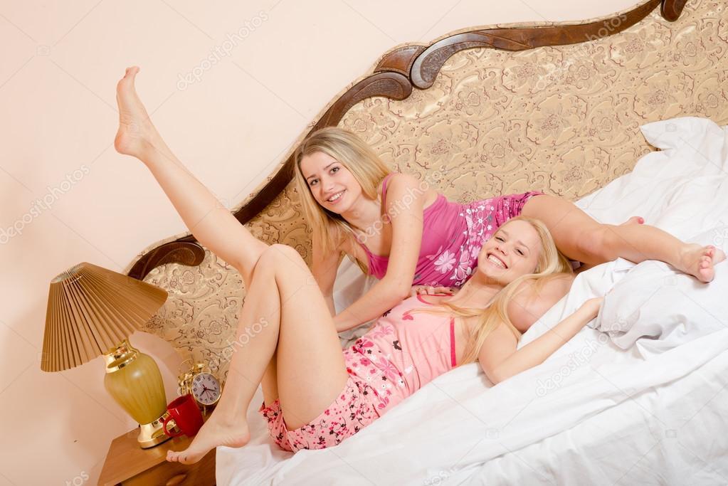 Sexy girls bedroom